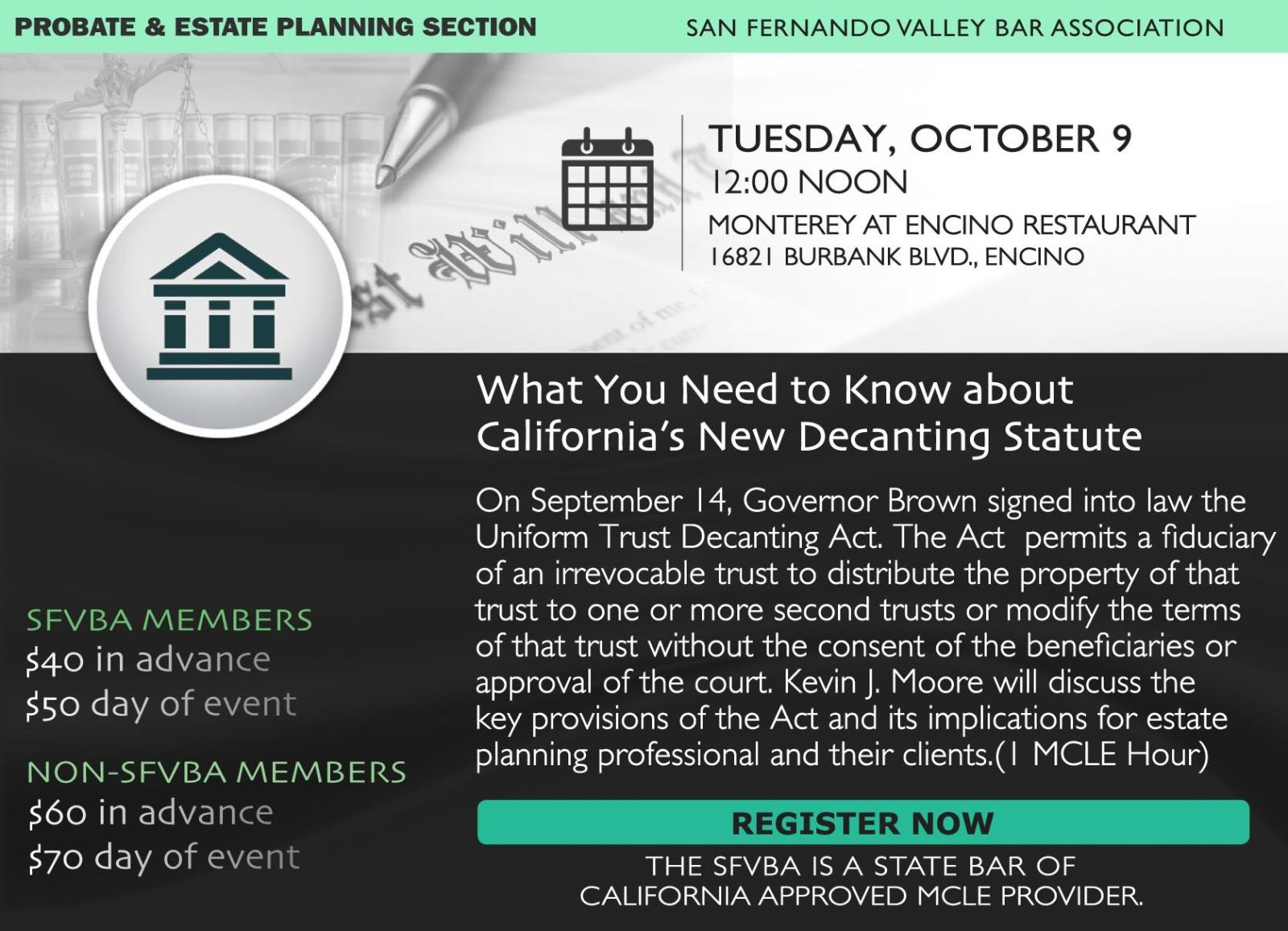 Sfvba Probate Estate Planning Section What You Need To Know About